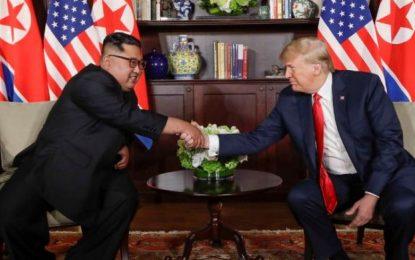 ترامپ و اون، سند تفاهم امضا کردند