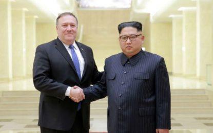 وزیر خارجه امریکا و رهبر کوریای شمالی با هم دیدار میکنند