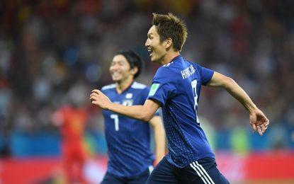 حذف جاپان تنها نماینده قاره کهن در مرحله یک هشتم از رقابتهای جام جهانی فوتبال ۲۰۱۸ روسیه
