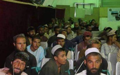 نیروهای ویژه ۵۸ تن را از زندان طالبان در هلمند رها کردند
