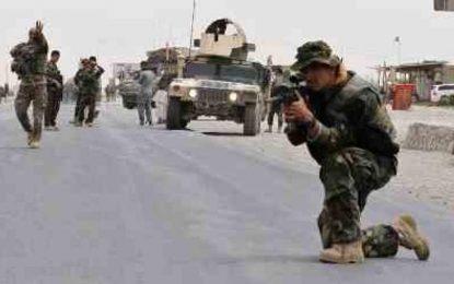 شاهراه کابل – قندهار از وجود مخالفان مسلح پاکسازی شده است
