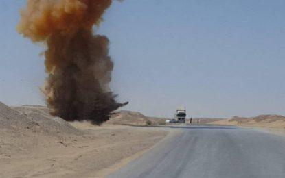 نیروهای امنیتی در نیمروز یک ماین کنار جادهی را در مسیر دلارام – زرنج خنثی کردند