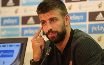 جرارد پیکه مدافع تیم ملی اسپانیا از فوتبال ملی خدا حافظی کرد