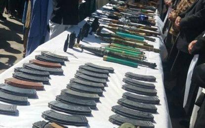 یک فرمانده ارشد طالبان در بادغیس با ۵۰ تن از افرادش به روند صلح پیوست