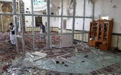 شمار تلفات حمله انتحاری بر مسجدی در شهر گردیز پکتیا به ۳۴ شهید و ۹۴ زخمی افزایش یافت