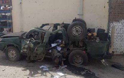 وقوع حمله انتحاری در نزدیکی معترضان در برابر کمیسون انتخابات در کابل