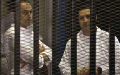 پسران حسنی مبارک رییس جمهور پیشین مصر بازداشت شدند