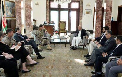امریکا به حیث متحد استراتیژیک کنار افغانستان میماند