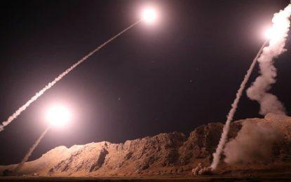 ایران البوکمال در سوریه را هدف حملات راکتی قرار داده است