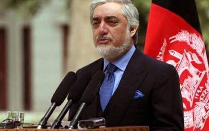 رئیس اجرائیه: طالبان با استفاده از فرصت موجود به روند صلح بپیوندد