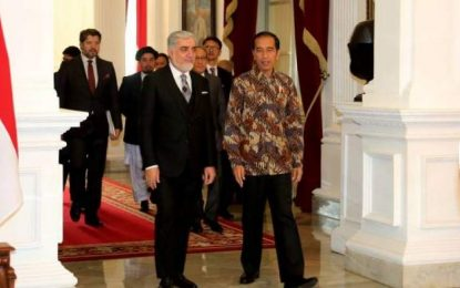 عبدالله: اندونیزی میتواند نقش فعالتری در روند صلح بازی کند