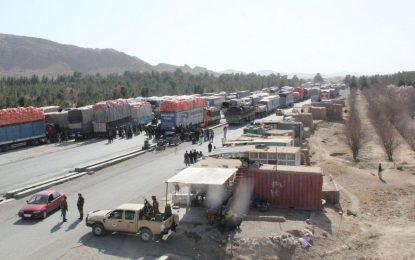 اعتراض رانندگان در مسیر شاهراه هرات- قندهار پایان یافت