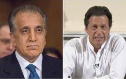پاکستان به خلیلزاد وعده همکاری همهجانبه در روند صلح افغانستان را داده است