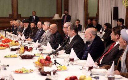 زلمی خلیلزاد با رهبران حکومت وحدتملی دیدار کرد