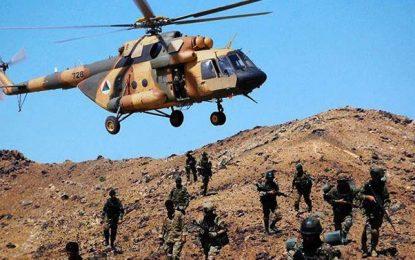 نیروهای ارتش ۱۴ طالب را در هلمند از پا در آوردند