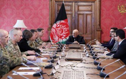 رئیس جمهور: تا پایان بحران افغانستان، مبارزه با تروریزم ادامه مییابد