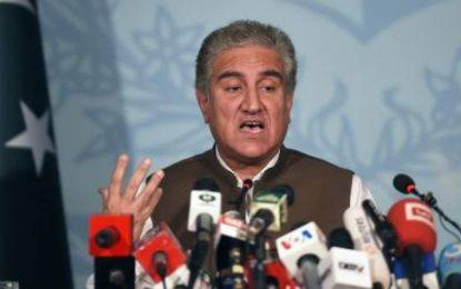 وزیر خارجه پاکستان: حمله هند روند صلح افغانستان را با مشکل روبرو میسازد