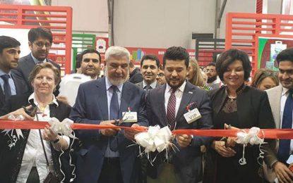 محصولات زراعتی افغانستان در دبی به نمایش گذاشته شد