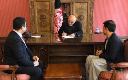 وحید عمر  مشاور ارشد رئیس جمهور شد