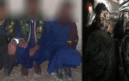 پولیس هرات ۵ سارق مسلح را بازداشت کرده است