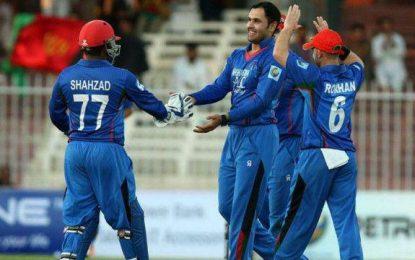 افغانستان در بازیهای ۵۰ آووره کرکت با تفاوت ۵ وکت به آیرلند باخت