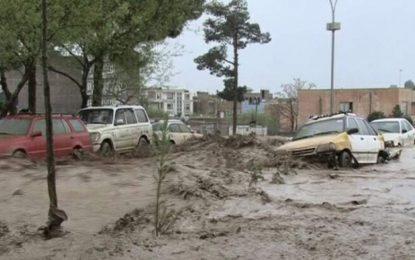 در یک ماه اخیر بیش از ۱۰۰ تن در اثر سیلابها در کشور جان باخته اند