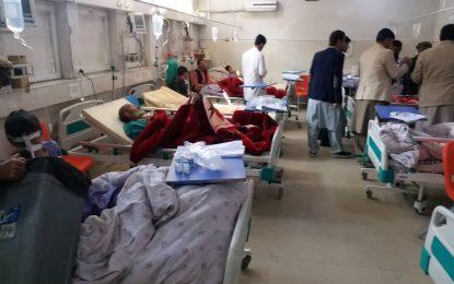 در حمله به یک شرکت خصوصی در ننگرهار ۲۵ کشته و زخمی شدند