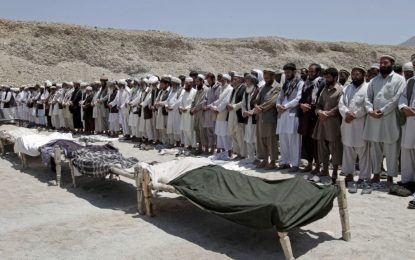 جان باختن ۱۳ فرد ملکی در حمله هوایی در قندز از سوی یوناما تایید شد