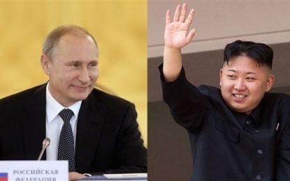اون به دیدار پوتین به روسیه میرود