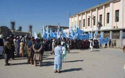 قندهاریان در حمایت از گفتگوهای صلح راهپیمایی کردند
