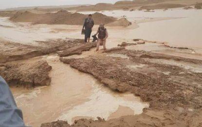 ریاست مبارزه با حوادث طبیعی نیمروز سیلاب دریای هلمند را قابل نگرانی نمیدانند