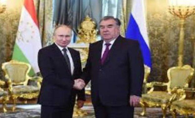 رؤسای جمهور روسیه و تاجکستان تاثیر وضعیت افغانستان را بر منطقه بررسی کردند