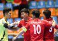 تیم فوتسال زیر ۲۰ سال افغانستان، تایلند را شکست داد