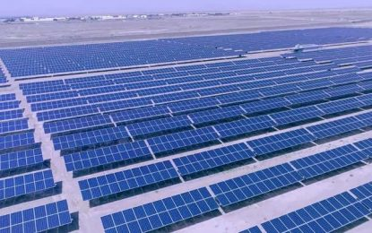 دو پروژه برق آفتابی با ظرفیت ۳۰ میگاوات در قندهار به بهرهبرداری رسید