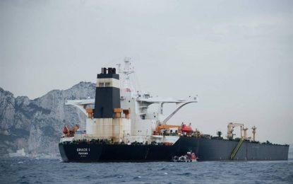"""امریکا دستور توقیف نفتکش ایرانی"""" گریس ۱″ را صادر کرد"""