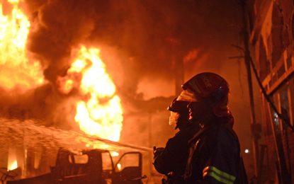 آتشسوزی در بنگلهدیش جان ۱۰ تن را گرفت