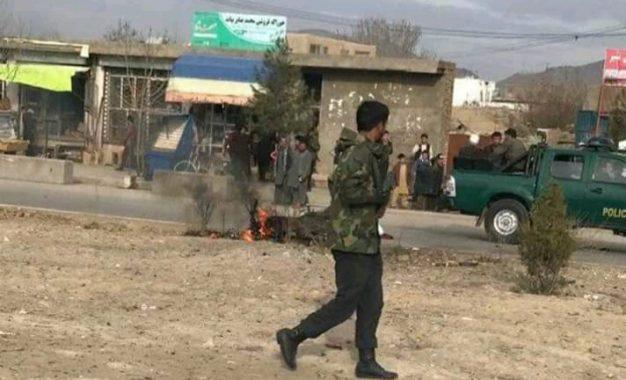 انفجار در کابل، ۹ زخمی بر جا گذاشت