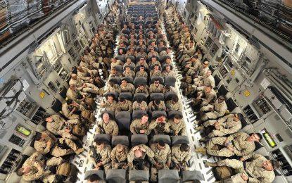 صدها سرباز امریکایی با برگشت از افغانستان، قرنطینه شدند