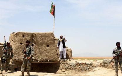 جان باختن ۴ نیروی امنیتی در حمله طالبان در دایکندی