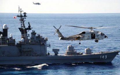 جاپان کشتی جنگی به خاورمیانه فرستاد