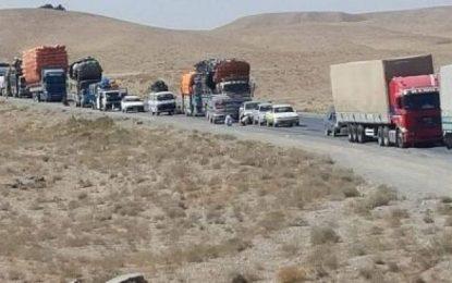 در نتیجه حادثه ترافیکی در شاهراه کابل-لوگر دو تن جان باختند