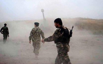 جان باختن ۹ سرباز ارتش در حملات طالبان در لوگر