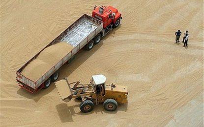 هند هزاران تن گندم به افغانستان صادر میکند