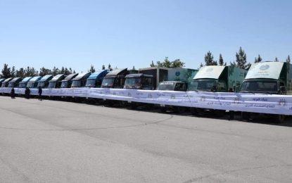توزیع ششهزار بسته مواد خوراکی برای نیازمندان در هرات