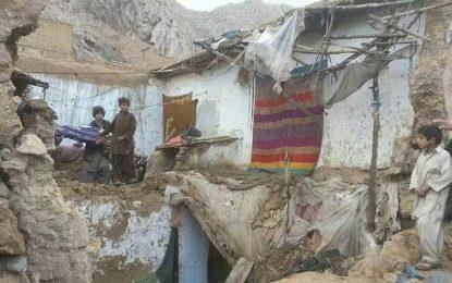 در اثر رفروریختن سقف یک خانه در کنر ۶ عضو یک خانواده جان باختند