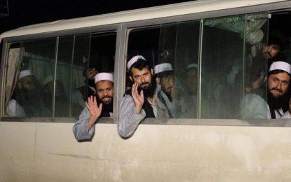 ۹۰۰ زندانی دیگر گروه طالبان از زندان آزاد شده اند