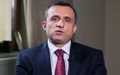 امرالله صالح: بیش از نصف خانواده و اعضای دفترم به ویروس کرونا مبتلا شدهاند