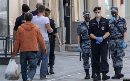 محدودیتهای ناشی از ویروس کرونا در مسکو برداشته شده است