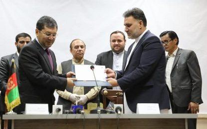 قرارداد ترمیم ۱۲ بنای تاریخی در هفت ولایت کشور امضا شده است
