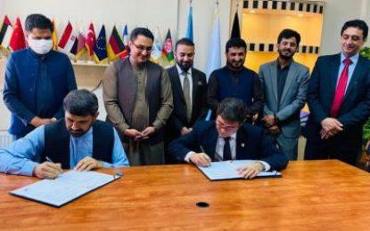 قرارداد ساخت بخش اول فرودگاه ننگرهار به ارزش ۷۹.۹ میلیون افغانی امضا شد